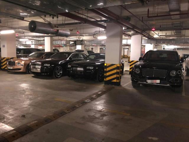 Gara đáng mơ ước tập hợp nhiều loại siêu xe của những đại gia Việt