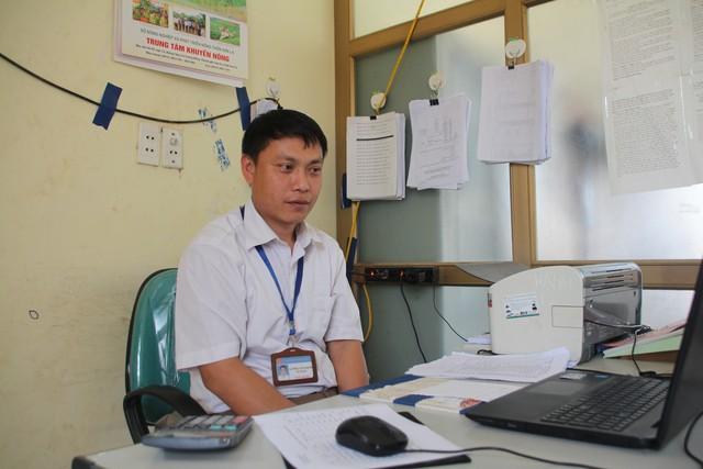 Ông Lường Văn Hạnh, Phó chủ tịch UBND xã Tông Lạnh, huyện Thuận Châu (Sơn La).