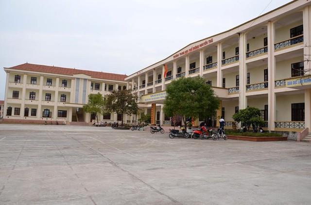 Cơ sở trường THPT Nguyễn Trãi, nơi học sinh của trường THPT Tiên Yên sẽ chuyển về. Ảnh: Lan Anh