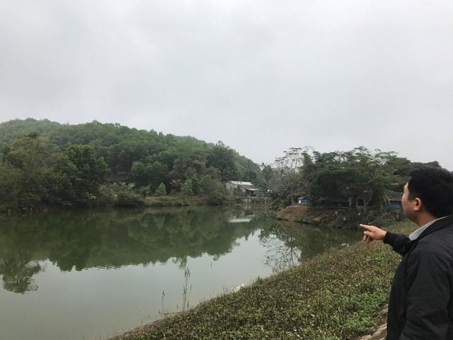 Theo nhiều người dân địa phương, dự án nghĩa trang nếu được triển khai sẽ nằm ngay đầu nguồn nước của đập nước Khăm . Ảnh M.T