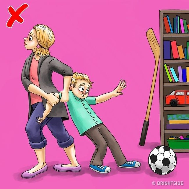 7. Tôn trọng việc con làm: Đây là điều tưởng chừng đơn giản nhưng ít cha mẹ làm được vì họ thường không để tâm đến việc trẻ làm. Họ có thể coi những cuộc trò chuyện của con với bạn bè là vô vị, không quan trọng bằng việc làm bài tập về nhà. Tuy nhiên, trẻ cũng cần được tôn trọng không gian, sở thích, nguyện vọng cá nhân. Cha mẹ chỉ nên đóng vai trò hướng dẫn con cần ưu tiên việc gì hơn thay vì áp đặt suy nghĩ lên trẻ.