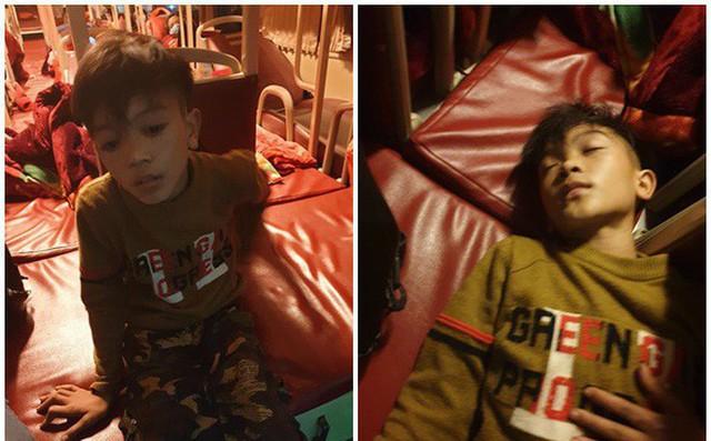 Câu chuyện cậu bé Quyết đạp xe xuống Hà Nội thăm em đã gây xúc động cho nhiều người. ảnh Internet