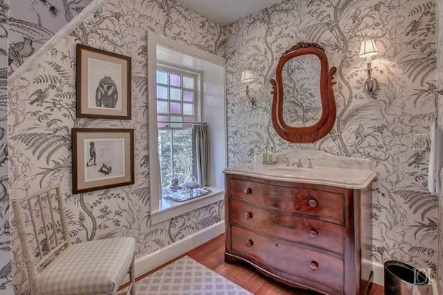 Mẫu giấy dán tường theo chủ đề thực vật khiến bất kỳ ai cũng muốn nhìn ngắm lâu hơn một chút.