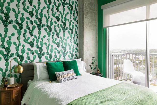 Bạn có thể lựa chọn mẫu giấy dán tường cho phòng khách, phòng ngủ, nhà tắm hay cả phòng ăn của gia đình.