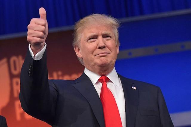 Tổng thống Mỹ Donald Trump .