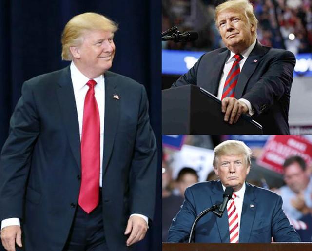 Nhiều người nhận xét, Tổng thống Mỹ - Donald Trump là người đi theo phong cách truyền thống, ăn mặc rất nghiêm túc.