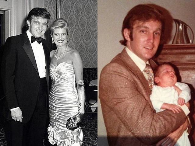 Ngay cả trong ngày cưới hoặc đầy tháng con trai, Donald Trump đều vận bộ vest chỉn chu.