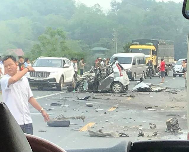 Hiện trường vụ tai nạn giao thông. Ảnh: Nguồn: OFFB