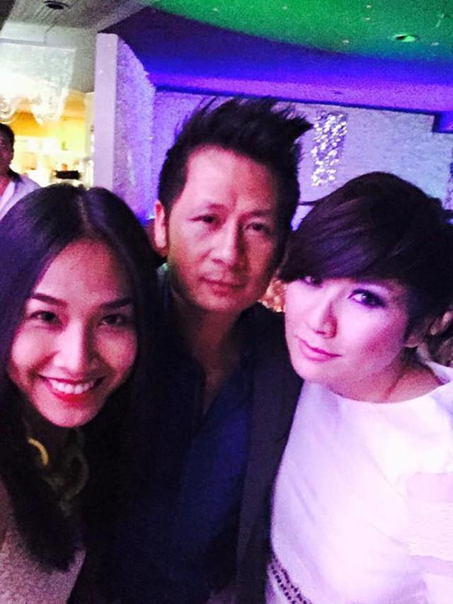 Trizzie Phương Trinh cũng thường xuyên chạm mặt và chụp hình kỉ niệm cùng Bằng Kiều và Dương Mỹ Linh trong thời gian cặp đôi vẫn còn đang hẹn hò.