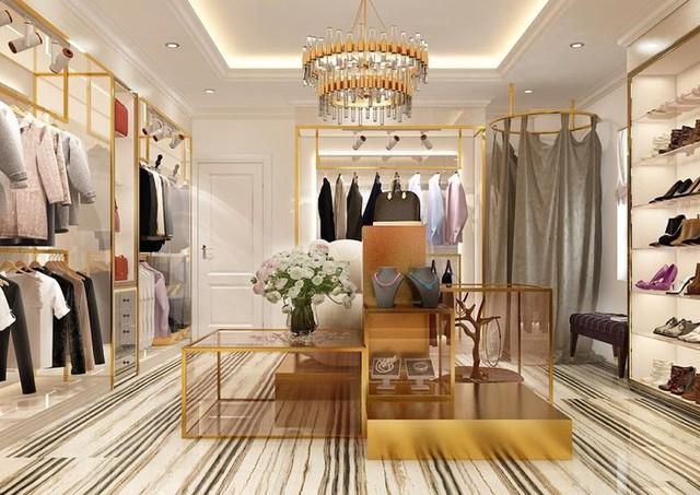 Phòng thay đồ với nhiều món hàng hiệu của Hòa Minzy và bạn trai.