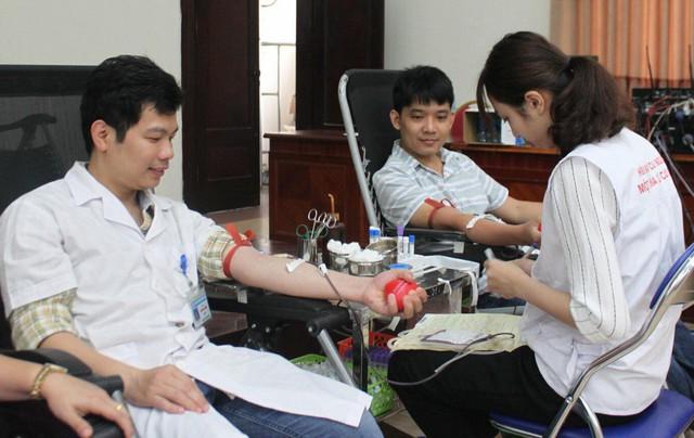 Bệnh viện Phụ sản Trung ương có gần 50 cán bộ đã hiến máu tình nguyện trên 5 lần liên tục
