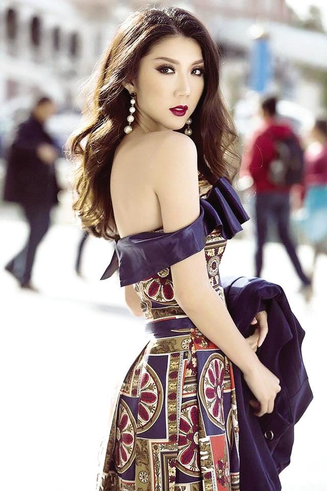 Cựu người mẫu Ngọc Quyên.