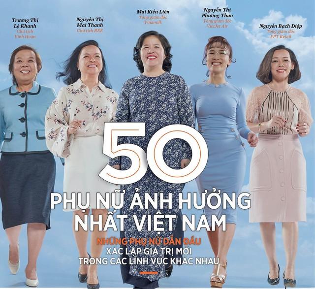 Forbes Việt Nam vinh danh Bà Mai Kiều Liên trong Top 50 Phụ nữ ảnh hưởng nhất Việt Nam 2019.