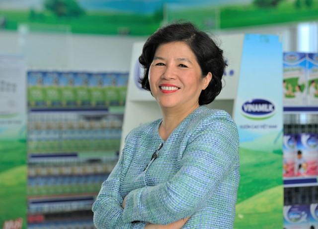 Bà Kiều Liên cho biết, bản thân theo ngành sữa là theo lời khuyên của ba mình.