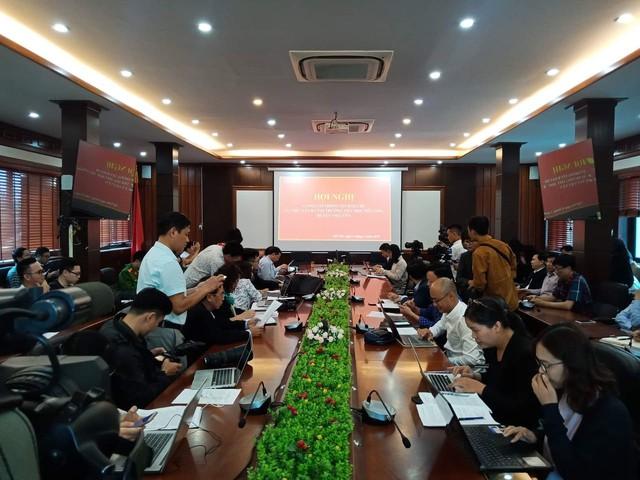Buổi họp báo do UBND huyện Việt Yên chủ trì nhằm thông báo sơ bộ vụ việc (ảnh TL)