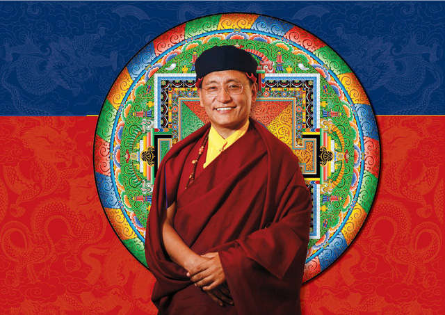 Pháp Vương Gyalwang Drukpa.