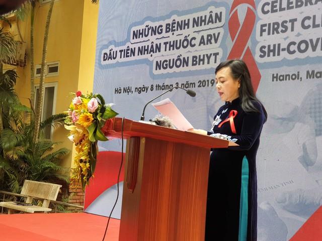 Bộ trưởng Bộ Y tế Nguyễn Thị Kim Tiến phát biểu tại sự kiện.