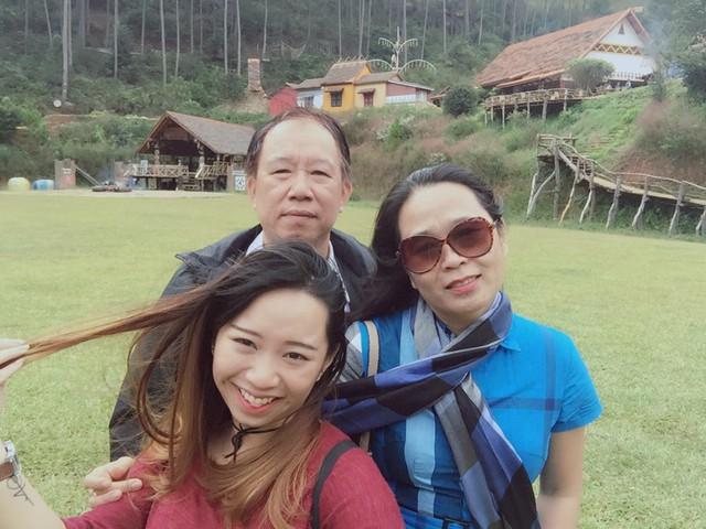 Gia đình chị Phương Lan sử dụng dịch vụ của Công ty Vịnh Thiên Đường tại Đà Lạt