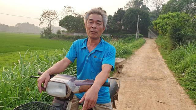 Ông Nguyễn Hữu Thụ, ở khu 3, xã Hạ Giáp bức xúc vì Cty Phương Nam hứa mà không thấy làm.