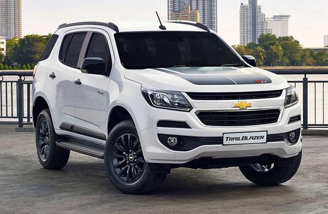 Chevrolet Trailblazer được giảm giá khủng.