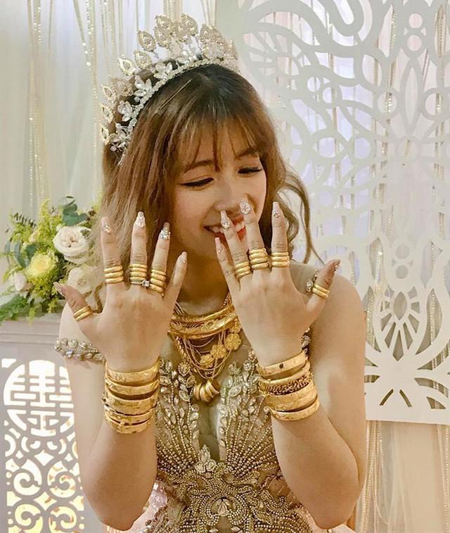 Cô dâu và số vàng khủng