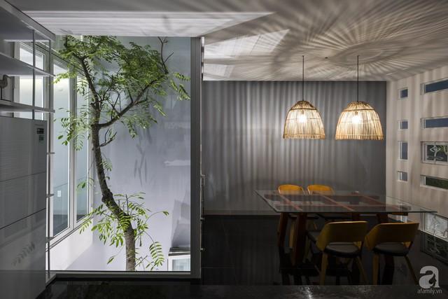 Xung quanh nhà được lắp đặt các ô kính nhỏ với tổng 438 lỗ ánh sáng.