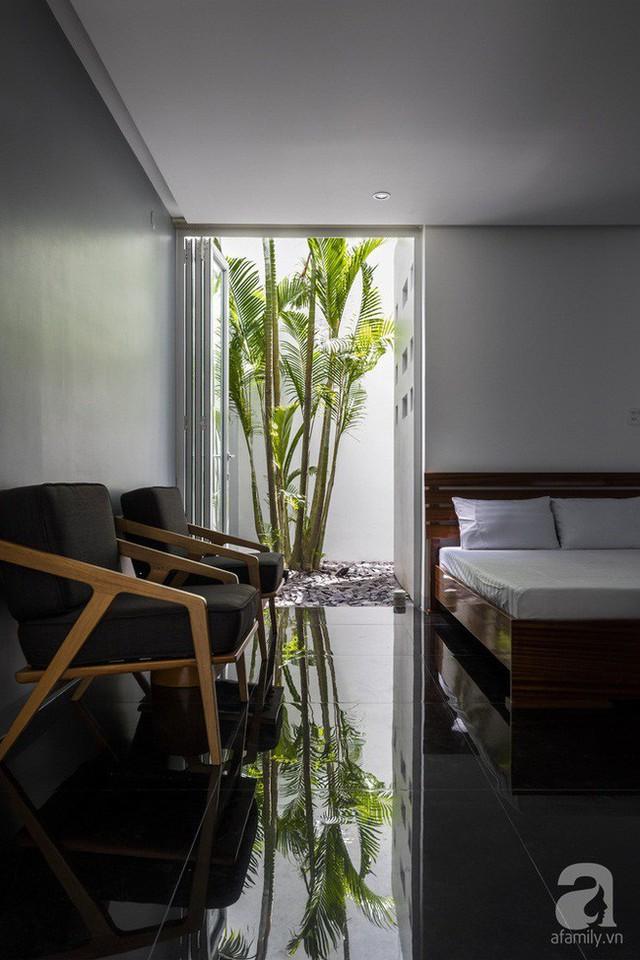 Phòng ngủ tiếp nối với thiên nhiên.