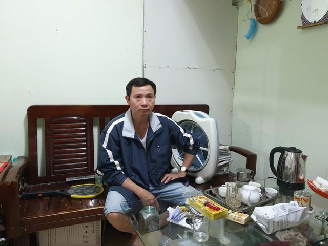 Anh Nguyễn Văn Huyên sẵn sàng cho cuộc Tổng điều tra Dân số và Nhà ở năm 2019.
