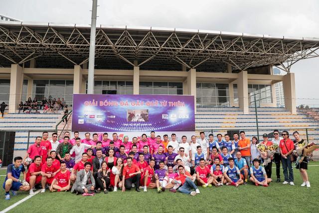 Giải đấu đã nhận được sự chung tay của nhiều nghệ sỹ
