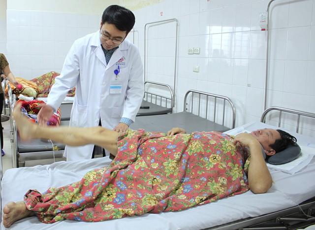 Sau ca mổ, sức khỏe người bệnh tiến triển tốt