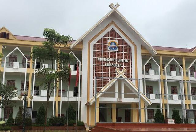 Trường THPT chuyên Sơn La, nơi có nhiều học sinh được nâng điểm trong kỳ thi THPT quốc gia 2018. Ảnh: N. H