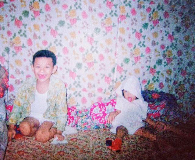 Hình ảnh Đào Bá Lộc ngày còn là cậu bé răng sún.