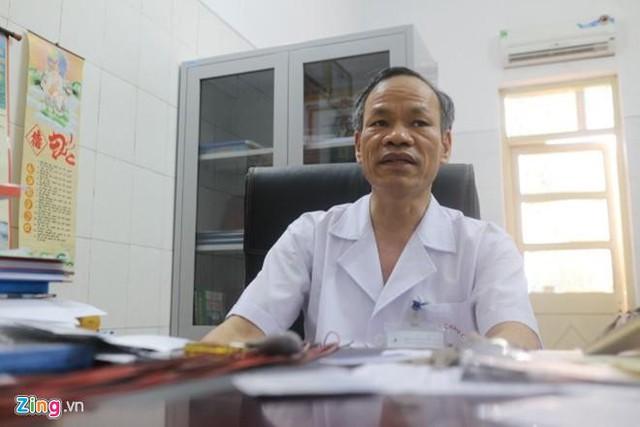Thạc sĩ Dương Văn Tâm. Ảnh: Hà Quyên.