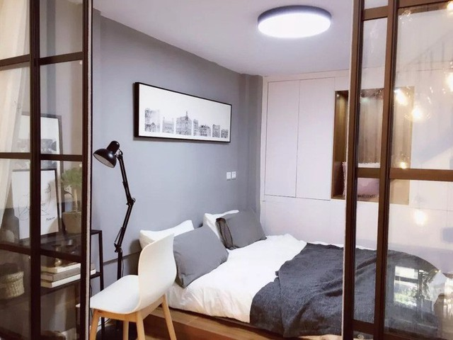 Phòng ngủ đơn giản.