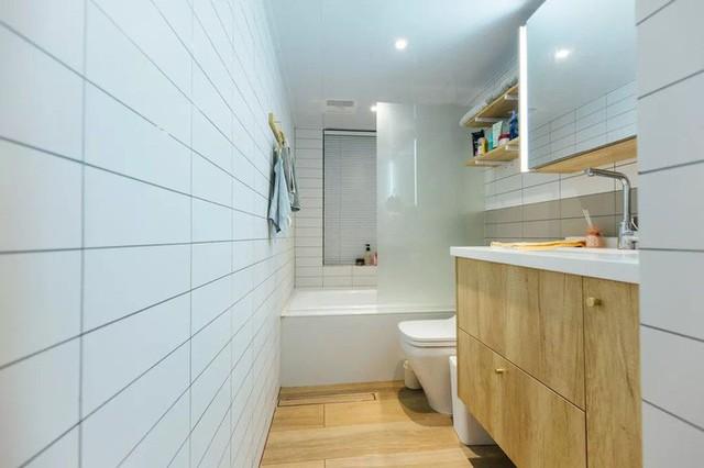 Cách thiết kế đơn giản, giữ được cảm giác sạch sẽ và tiện lợi khi sử dụng.