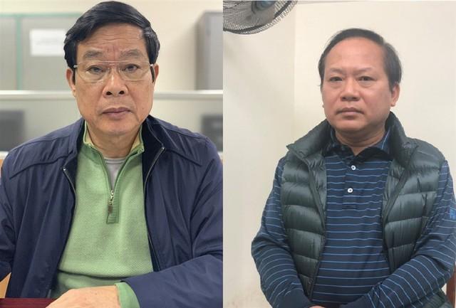Các ông Nguyễn Bắc Son và Trương Minh Tuấn bị khởi tố bổ sung tội nhận hối lộ (ảnh tư liệu)