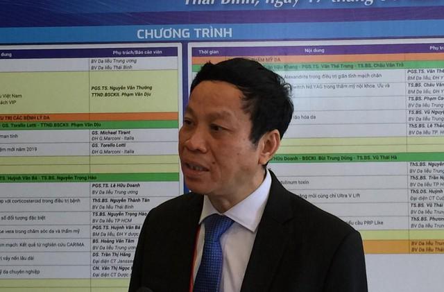 PGS.TS Nguyễn Văn Thường, Giám đốc Bệnh viện Da liễu Trung ương.