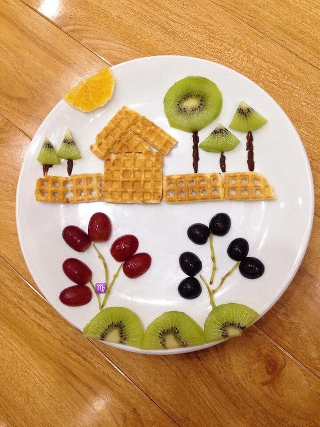 Có lẽ sẽ là không sai khi nói bất cứ loại đồ ăn nào khi vào tay chị Vân Khánh đều có thể trở thành tác phẩm nghệ thuật phải không bạn?