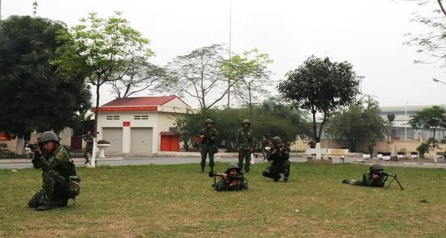 Tiểu đoàn Thiết giáp 47 đã tập trung nâng cao chất lượng huấn luyện toàn diện, trong đó chú trọng huấn luyện chiến thuật kỹ thuật và huấn luyện chuyên môn . (Ảnh: HM)