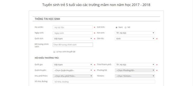 Năm học 2019 - 2020: Tuyển sinh trực tuyến tại Hà Nội sẽ thực hiện thế nào? - Ảnh 4