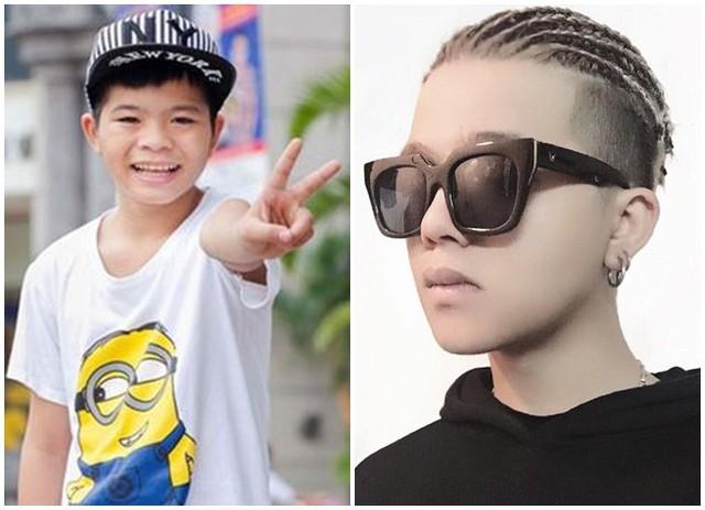Trái với hình ảnh cậu bé hạt tiêu trong quá khứ, Quang Anh hiện tại đã là chàng trai 18 tuổi có gu thời trang ấn tượng.