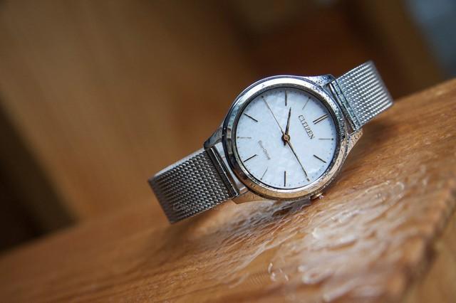 """Trong tất cả các thương hiệu đồng hồ nữ nổi tiếng thì Citizen được xem là có mức giá """"dễ chịu"""" nhất - Ảnh minh họa: Citizen EM0504-81A (giá khoảng 4,9 triệu)"""