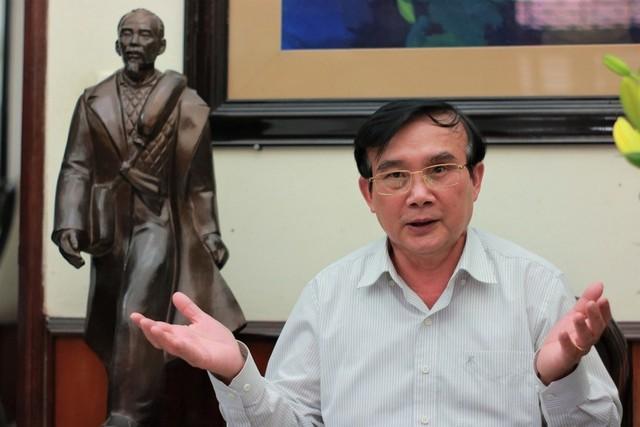 Thiếu tướng Lê Mã Lương, nguyên giám đốc Bảo tàng Lịch sử quân sự Việt Nam.