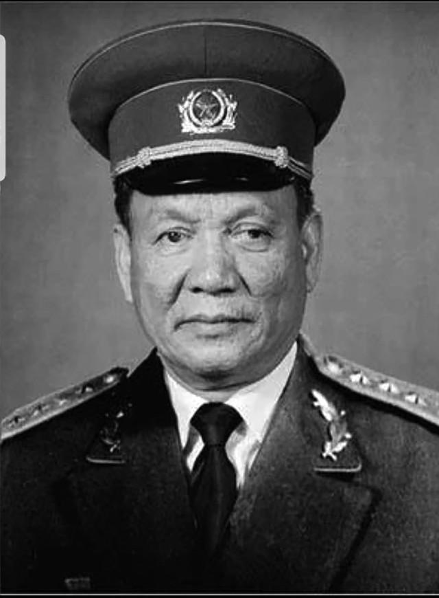 Đại tướng Lê Đức Anh - nguyên Chủ tịch nước CHXHCN Việt Nam. Ảnh:TL