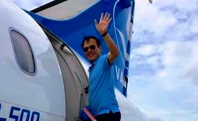 Hình ảnh đồn thổi trên mạng cho rằng nguyên Phó viện trưởng VKSND TP Đà Nẵng Nguyễn Hữu Linh đi du lịch với gia đình trong thời gian cơ quan chức năng đang điều tra vụ án