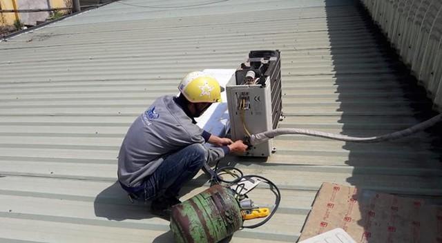 Cần nạp đúng loại gas để đảm bảo vận hành cho máy lạnh.