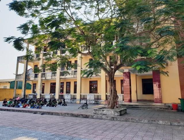 Khu vực ký túc trường THPT dân tộc nội trú tỉnh Quảng Bình.