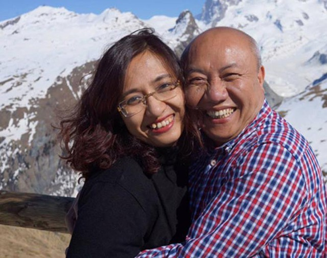 Cuộc sống viên mãn của BTV Vân Anh bên ông xã lớn hơn 21 tuổi