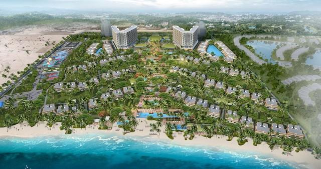 Khu nghỉ dưỡng ALMA có các căn hộ và villa hướng biển