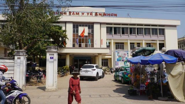 Trung tâm Y tế thị xã An Nhơn (Bình Định), nơi xảy ra vụ việc. Ảnh: Thanhnien
